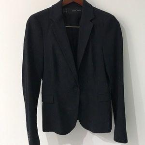 Zara Classic single button blazer